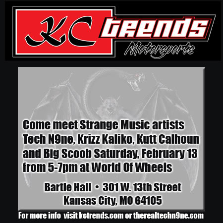 "Meet Strange Music Artists At KC Trends' ""World of Wheels"""
