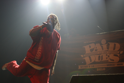 Tech N9ne Featured In Crave Online Review Of Paid Dues 2010