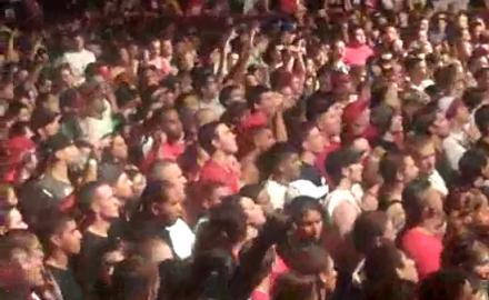 Tech N9ne Leads Denver Crowd To Chant 'G-U-V-E-R-A' [Video]