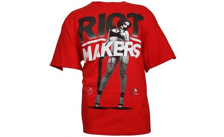Tech N9ne Red 'Riot Maker' T-Shirt By TITS [Merch]