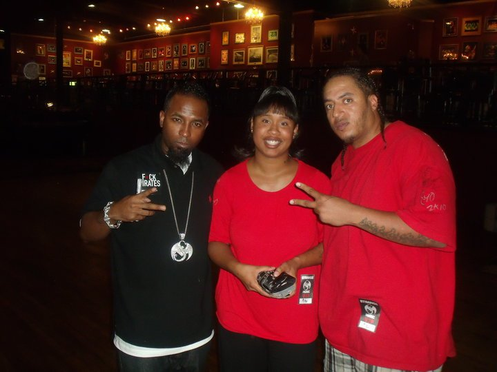 Tech N9ne and Denver Fan Porsche Leach
