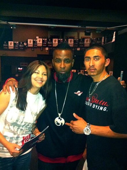 Tech N9ne And Fan Steven Rocha - Spokane, Washington