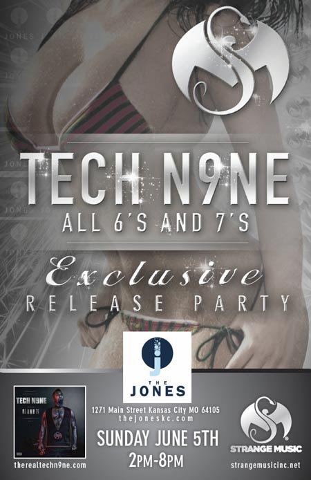Tech N9ne S All 6 S And 7 S Official Album Release Party