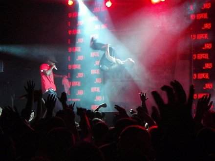 Jay Rock Backflip