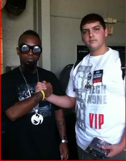 Tech N9ne And Fan Christopher Cabrera - Ft. Lauderdale, Florida