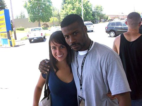 Jay Rock And Fan Ashley Middelton