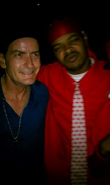 Kutt Calhoun And Charlie Sheen