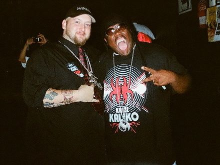 Krizz Kaliko And Fan Roger Sovine - All 6's and 7's - The Tour - Nashville, Tennessee