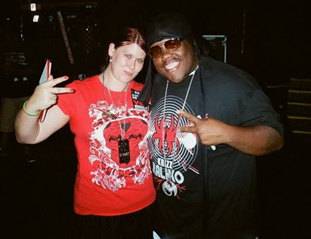 Krizz Kaliko And Fan - All 6's and 7's - The Tour - Nashville, Tennesee