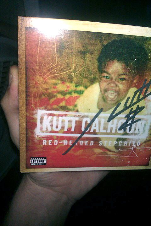 Kutt Calhoun Fan Dylan Cox With Red-Headed Stepchild