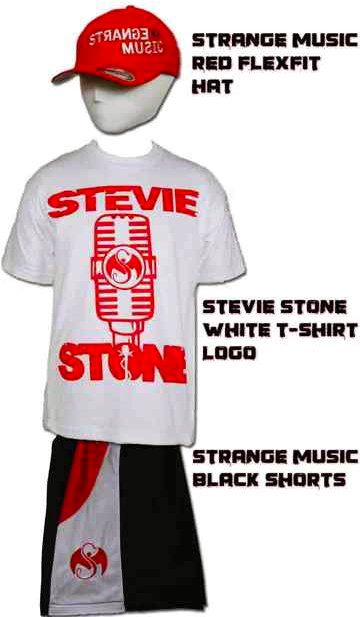 Stevie Stone and Strange Music Merchandise