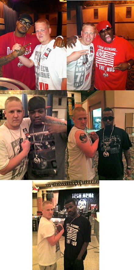 Strange Music Fam And Fan Justin Danz - Indianapolis, Indiana