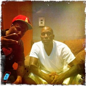 Jay Rock And Tyrese In The Studio