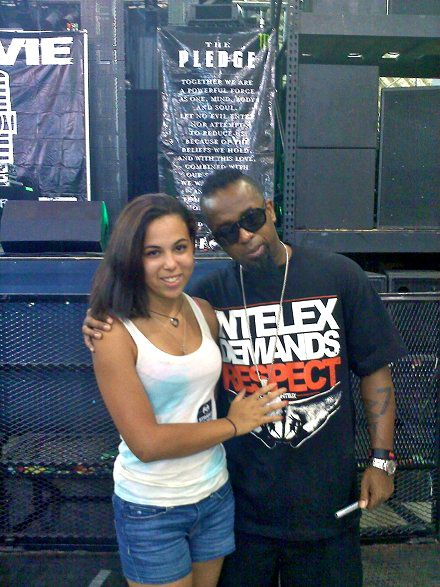 Tech N9ne And Fan Amanda - Louisville, KY