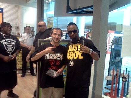 Tech N9ne And Fan Chris Redmon - Cincinatti, Ohio