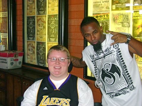Tech N9ne And Fan Cody Newcomb
