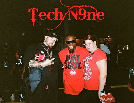Tech N9ne And Fans Tracy And Roger Sovine - All 6's and 7's - The Tour - Nashville, Tennessee