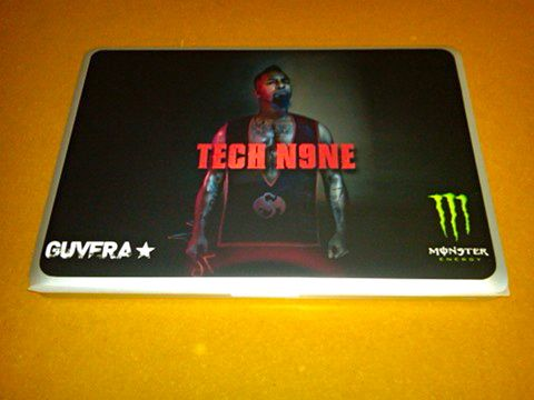 Tech N9ne Macbook 2 - Guvera - Monster