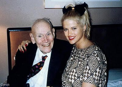 Anna Nicole Smith And Billionaire J Howard Marshall
