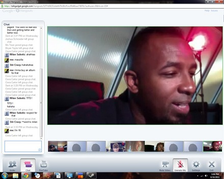 Tech N9ne Hangs Out With Fans On Google+