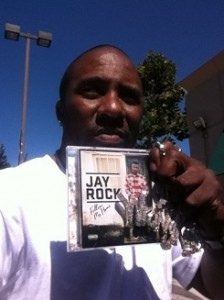 Jay Rock Fan Holding Follow Me Home