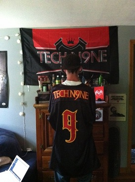 Tech N9ne Limited Edition Jersey