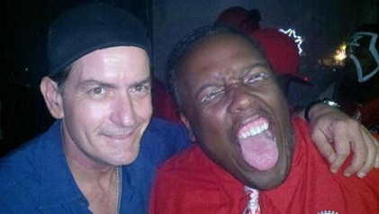 Krizz Kaliko And Charlie Sheen