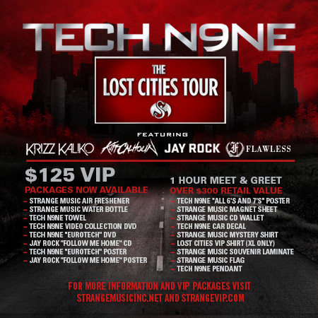 Tech N9ne - The Lost Cities Tour