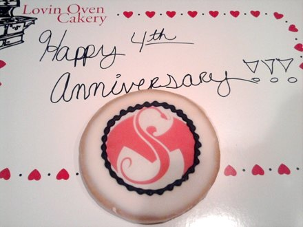 Strange Music - Anniversary Cookie