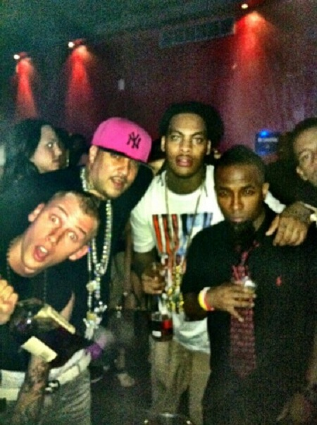 Tech N9ne With Waka Flocka Flame, Machine Gun Kelly, And French Montana