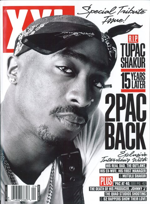 XXL Magazine - September 2011 Featuring Tupac Shakur