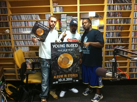 Young Bleed And Fans On Promo Tour