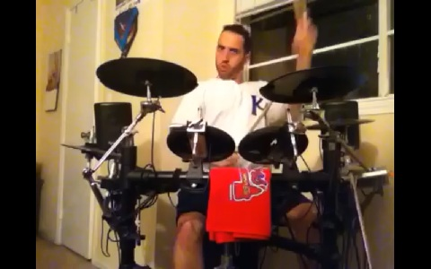 "Drummer Covers Tech N9ne's ""He's A Mental Giant"""