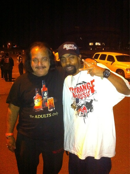 Young Bleed Meets Ron Jeremy