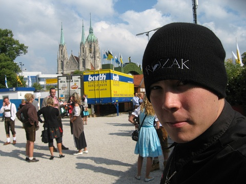 Keith Represents Prozak In Germany