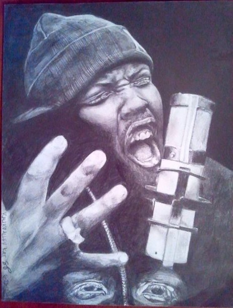Krizz Kaliko Drawing