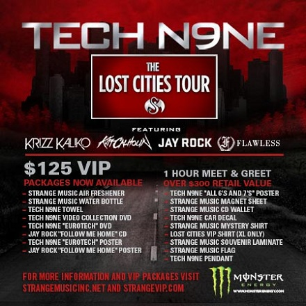 The Lost Cities Tour