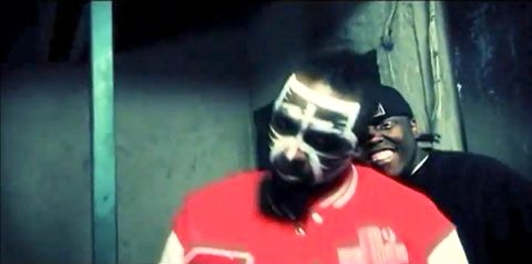 "Tech N9ne And Krizz Kaliko In Dirty Wormz - ""2 Inch Reel Killa Remix"" Music Video"