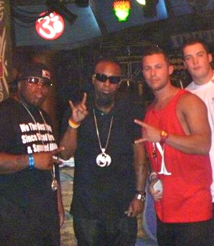 Tech N9ne And San Diego Street Team Leader Mike Howard And Nate Brow