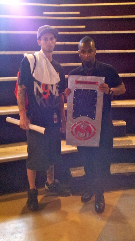 Tech N9ne and Fan Kyle Pounds