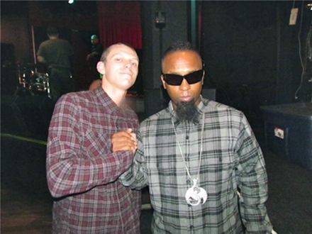 Tech N9ne and Fan - San Luis, CA