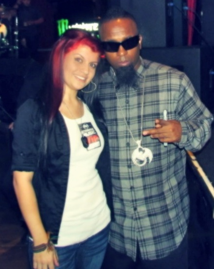 Tech N9ne and Fan - San Luis