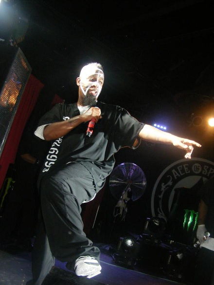 Tech N9ne On Stage In Sacramento
