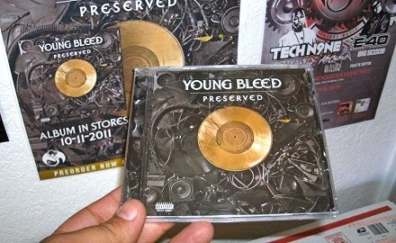Young Bleed - Preserved In Hand
