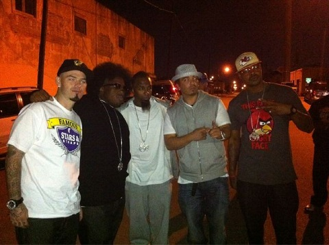 Tech N9ne, Krizz Kaliko, And Kutt Calhoun With Baby Bash And Paul Wall