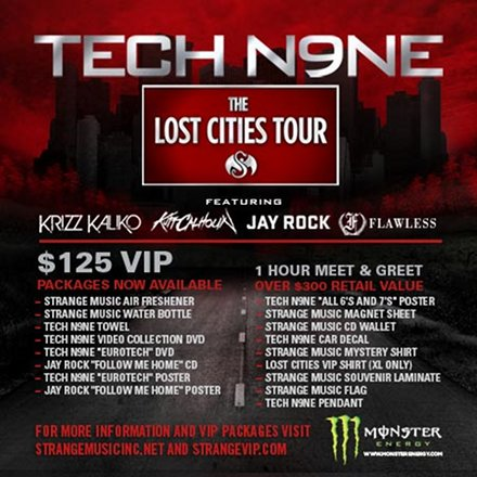 Strange Music - Lost Cities Tour