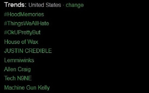 Tech N9ne Trends On Twitter