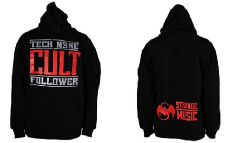 Tech N9ne Black Cult Follower Hoodie