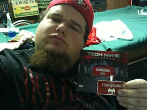 Fan With His  Best Buy Deluxe Edition Of Welcome To Strangeland