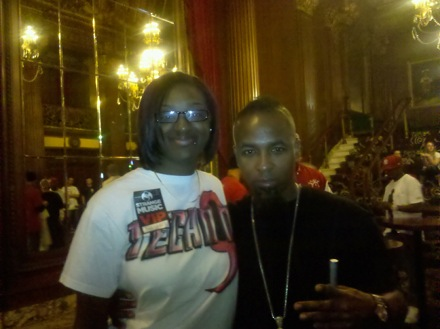 Lost Cities Tour - Kansas City, Missouri - Tech N9ne and Fan Tatiana Johnson